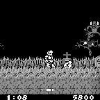 Ghosts 'N Goblins Nintendo Game Boy Game - Screenshot