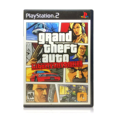 Grand Theft Auto: Liberty City Stories Sony PlayStation 2 Game - Case