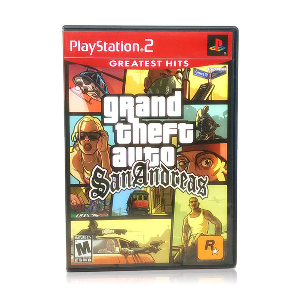 Grand Theft Auto: San Andreas Sony PlayStation 2 Game
