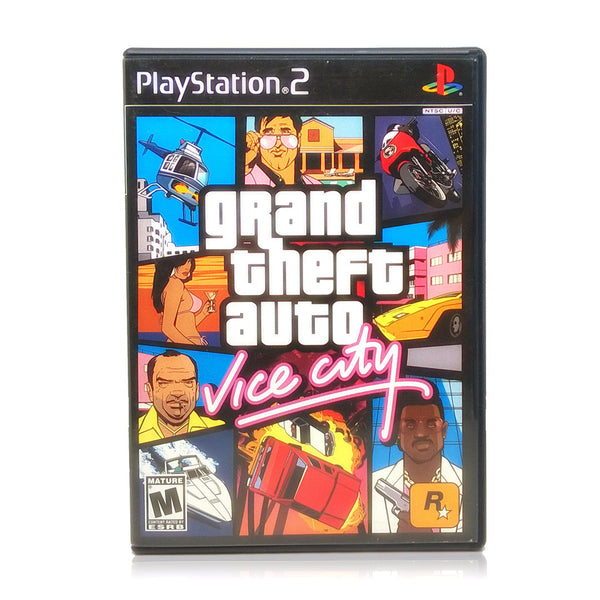 buy grand theft auto vice city sony playstation 2 game. Black Bedroom Furniture Sets. Home Design Ideas