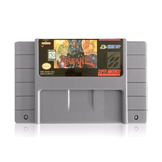 Hagane The Final Conflict Reproduction SNES Super Nintendo Game - Cartridge
