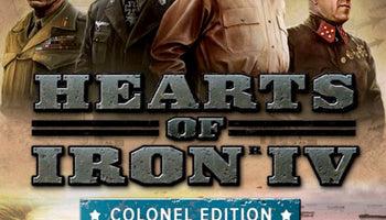 Hearts of Iron IV: Colonel Edition PC Game Steam Digital Download