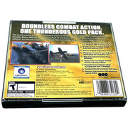 IL-2 Sturmovik: Forgotten Battles (Gold Pack Edition) for PC CD-ROM - Back of case