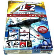 IL-2 Sturmovik: Forgotten Battles (Gold Pack Edition) for PC CD-ROM - Front of box