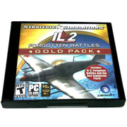 IL-2 Sturmovik: Forgotten Battles (Gold Pack Edition) for PC CD-ROM - Front of case