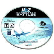 IL-2 Sturmovik: Forgotten Battles (Gold Pack Edition) for PC CD-ROM - Game disc 1