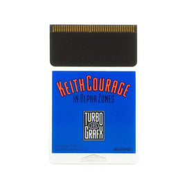 Keith Courage in Alpha Zones TurboGrafx-16 Game