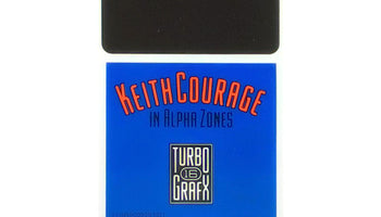 Keith Courage in Alpha Zones TurboGrafx-16 Game - HuCARD