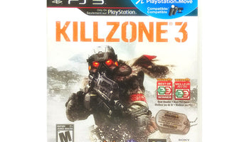 Killzone 3 Sony PlayStation 3 PS3 Game
