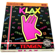 Klax for TurboGrafx-16 - Front of box