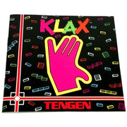 Klax for TurboGrafx-16 - Front of manual