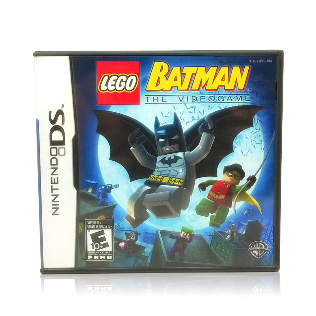 LEGO Batman: The Videogame Nintendo DS Game - Case