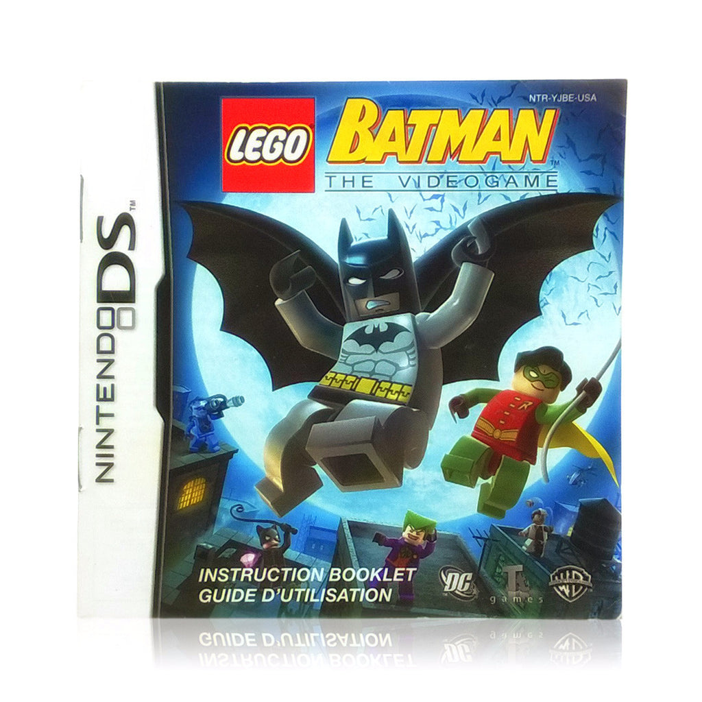 LEGO Batman: The Videogame Nintendo DS Game - Manual