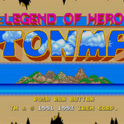 Legend of Hero Tonma Reproduction TurboGrafx-16 Game - Screenshot 1