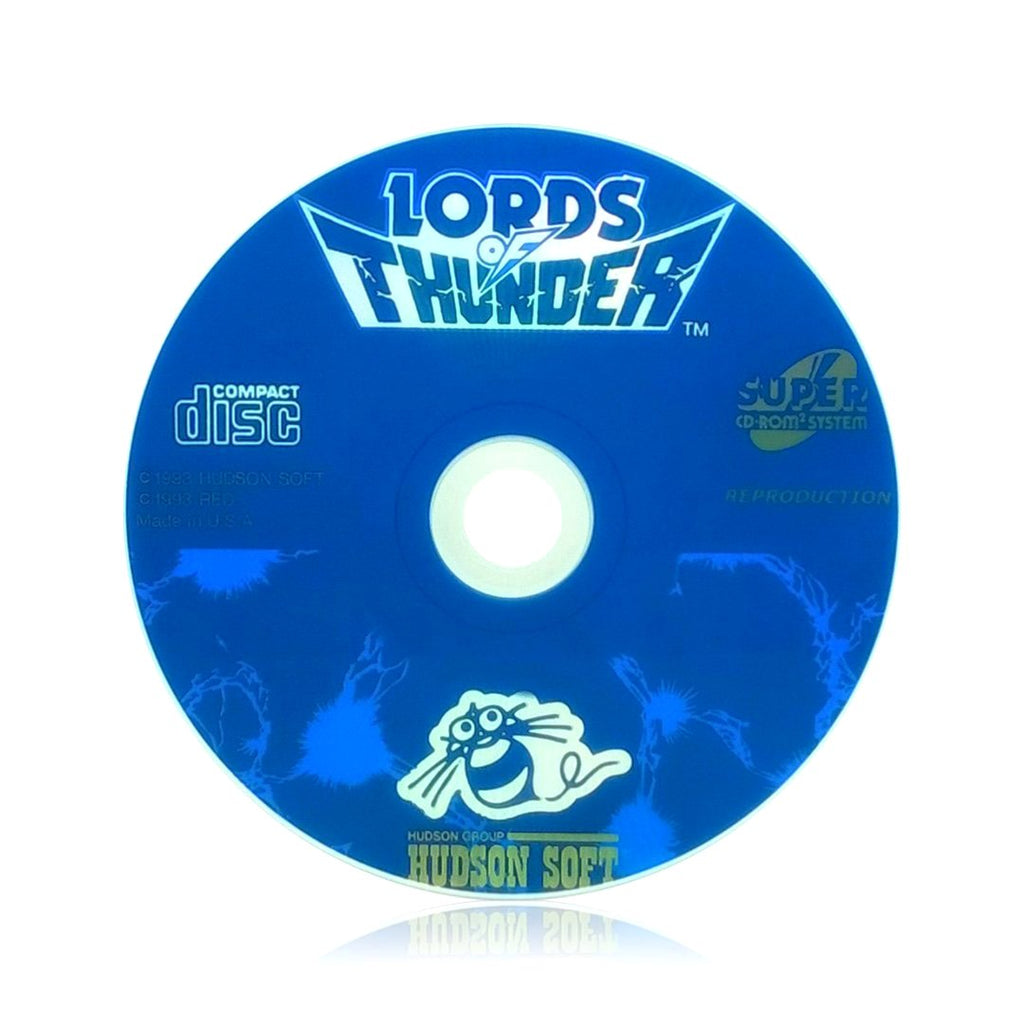 Lords of Thunder Reproduction TurboGrafx-16 CD Game - Disc