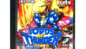 Lords of Thunder Reproduction TurboGrafx-16 CD Game