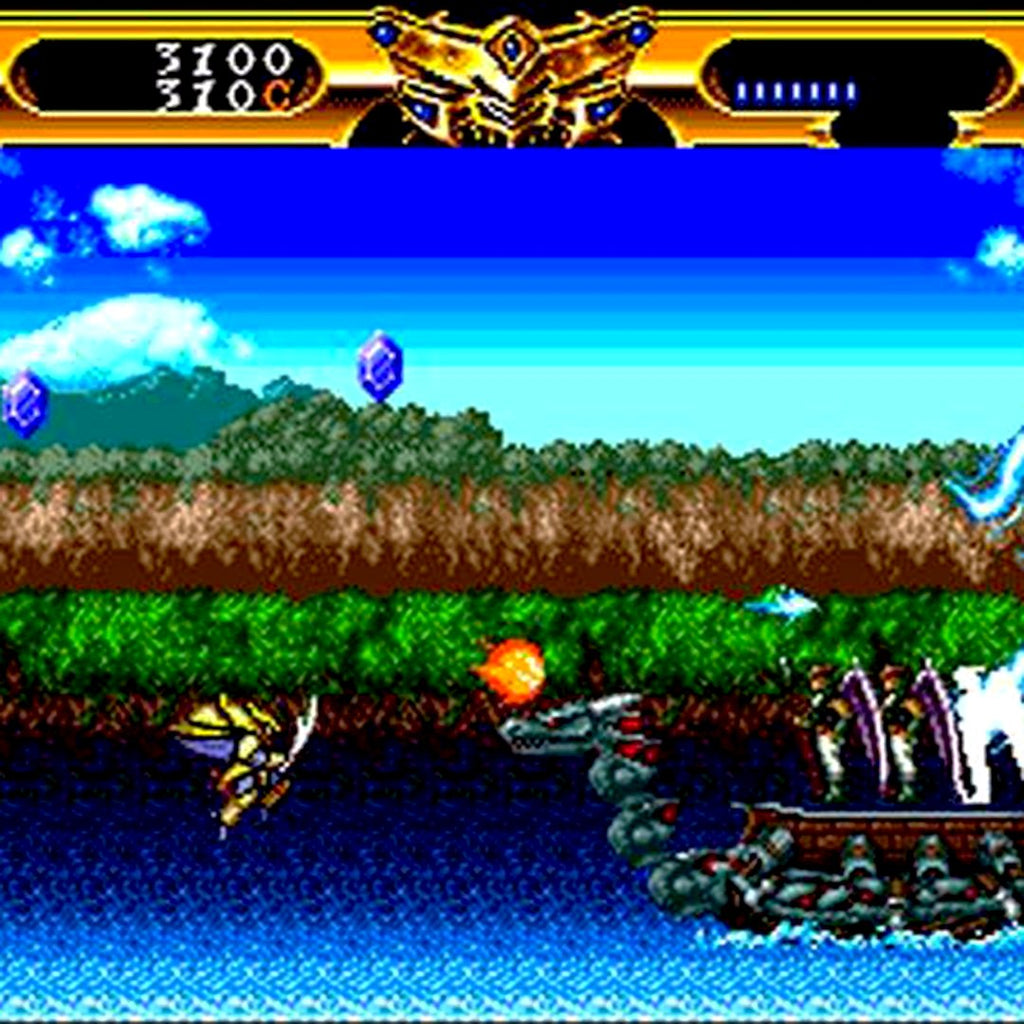 Lords of Thunder Reproduction TurboGrafx-16 CD Game - Screenshot 3