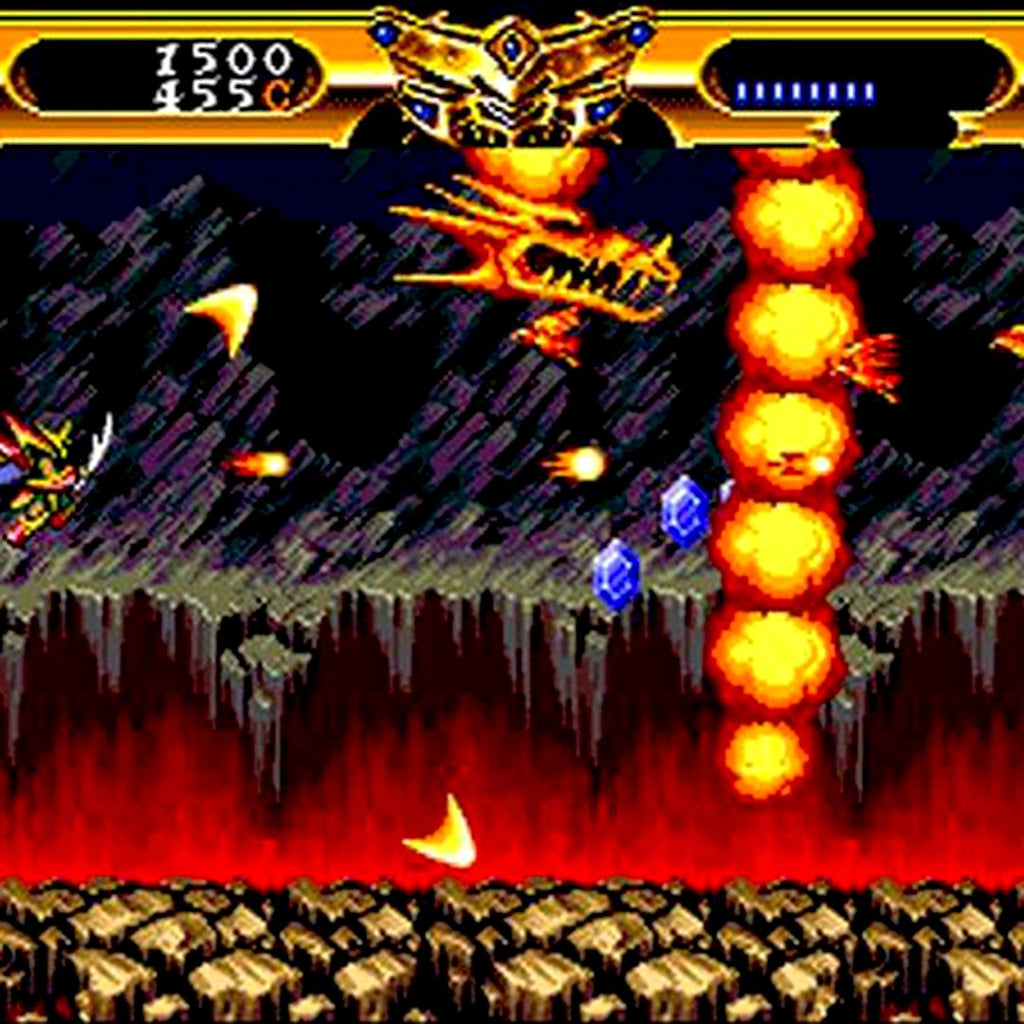 Lords of Thunder Reproduction TurboGrafx-16 CD Game - Screenshot 4