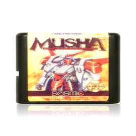 MUSHA Reproduction Sega Genesis Game