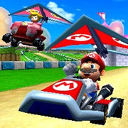 Mario Kart 7 Nintendo 3DS Game - Screenshot