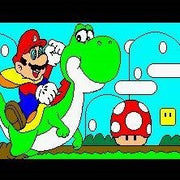Mario Paint SNES Super Nintendo Game - Screenshot