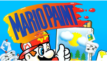 Mario Paint SNES Super Nintendo Game