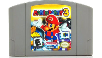 Mario Party 3 Nintendo 64 N64 Game - Cartridge