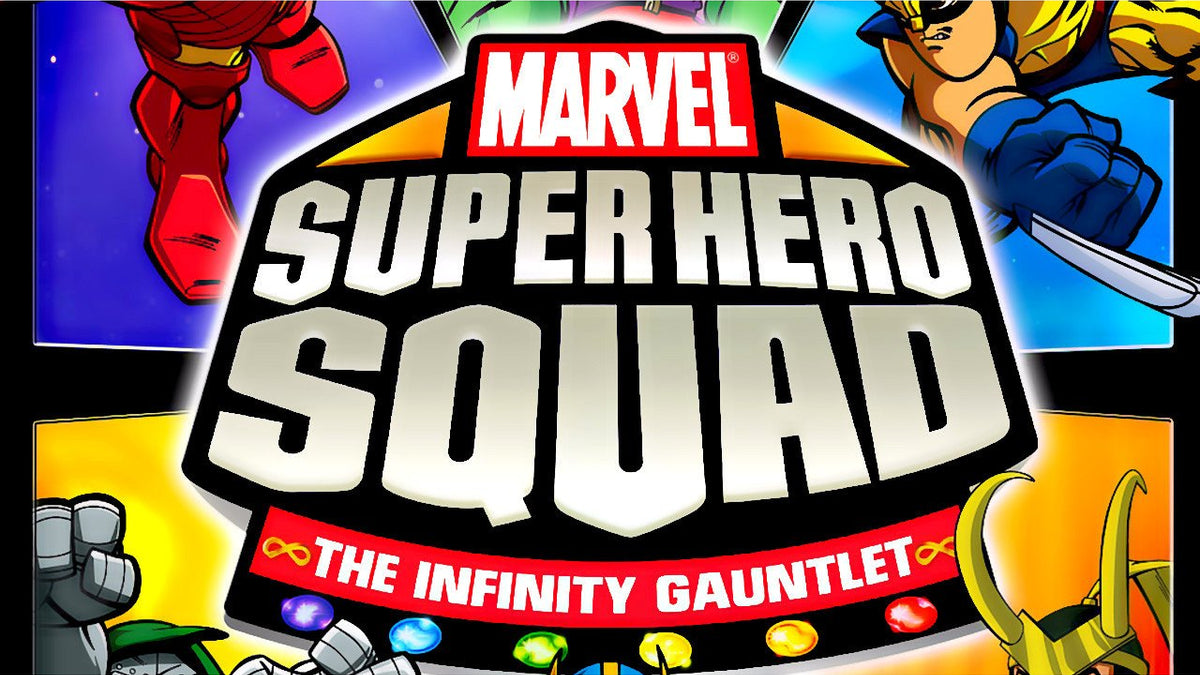 Marvel Super Hero Squad: The Infinity Gauntlet Nintendo Wii Game