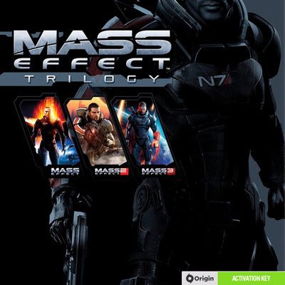 Mass Effect Trilogy PC Game Origin Digital Download