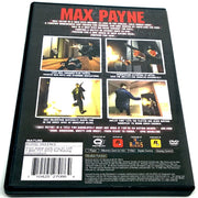 Max Payne for PlayStation 2 - Back of case