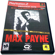 Max Payne for PlayStation 2 - Front of case