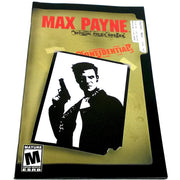 Max Payne for PlayStation 2 - Front of manual