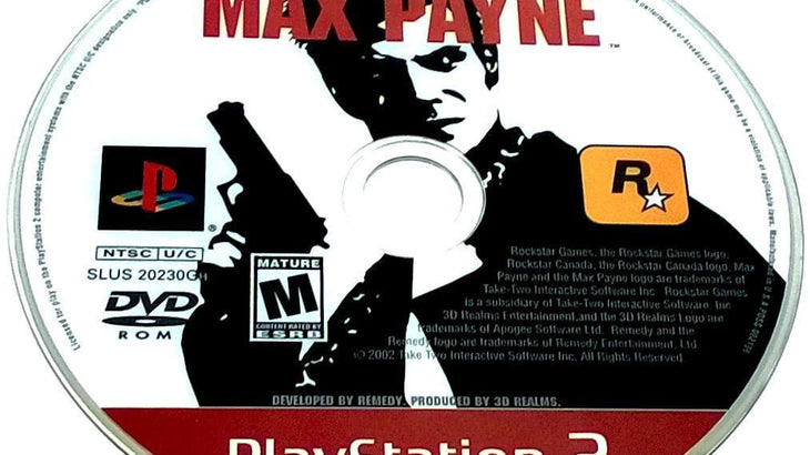 Max Payne For Playstation 2 Ps2 Pj S Games
