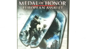 Medal of Honor: European Assault Nintendo Gamecube Game- Case