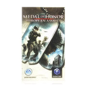 Medal of Honor: European Assault Nintendo Gamecube Game - Manual