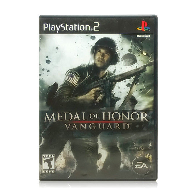 Medal of Honor: Vanguard Sony PlayStation 2 Game - Case