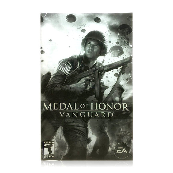 Medal Of Honor Vanguard Sony Playstation 2 Game Pj S Games