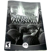 Medal of Honor: Allied Assault for PC CD-ROM - Front of manual