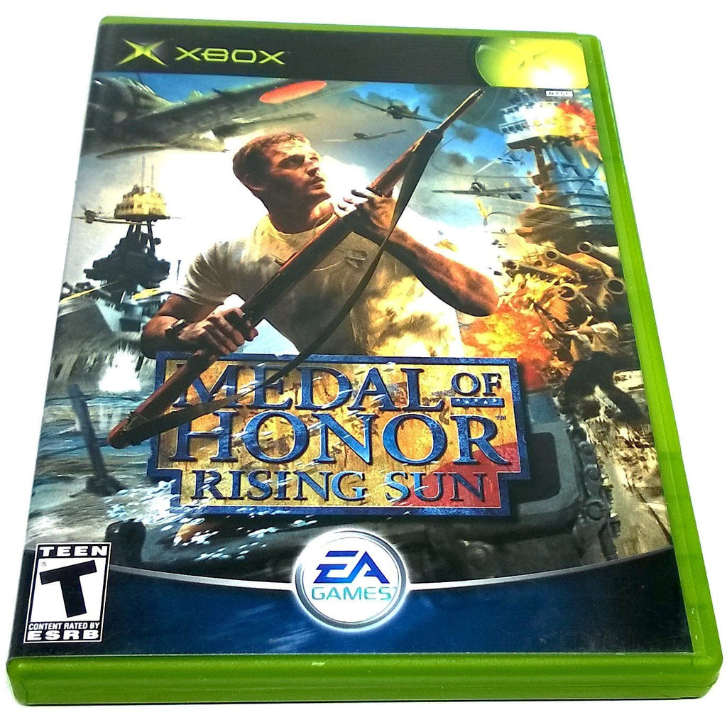 Medal of Honor: Rising Sun for Xbox - Front of case