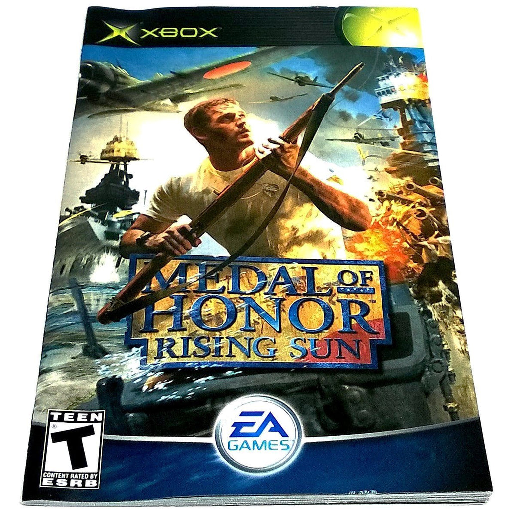 Medal of Honor: Rising Sun for Xbox - Front of manual