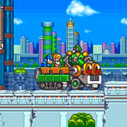 Mega Man 7 Reproduction SNES Super Nintendo Game - Screenshot 3