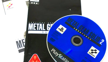 Metal Gear Solid 2: Substance for PlayStation 2 (import)