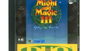Might and Magic III: Isles of Terra Reproduction TurboGrafx-16 CD Game