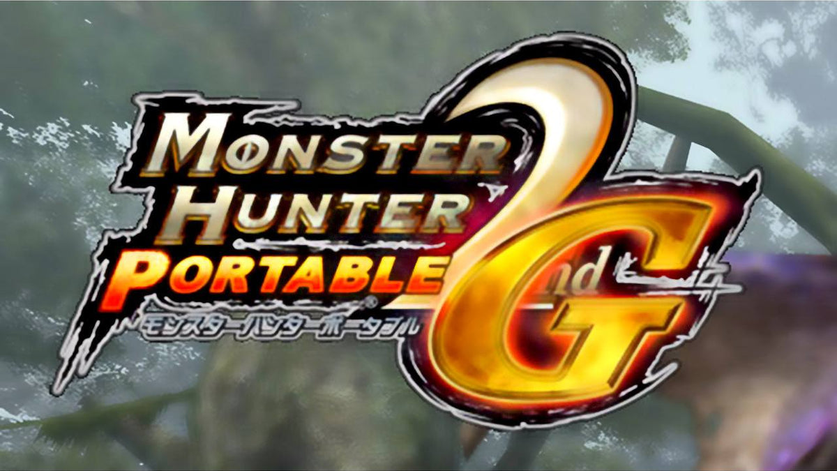 Monster Hunter Portable 2nd G Import PlayStation Portable PSP Game