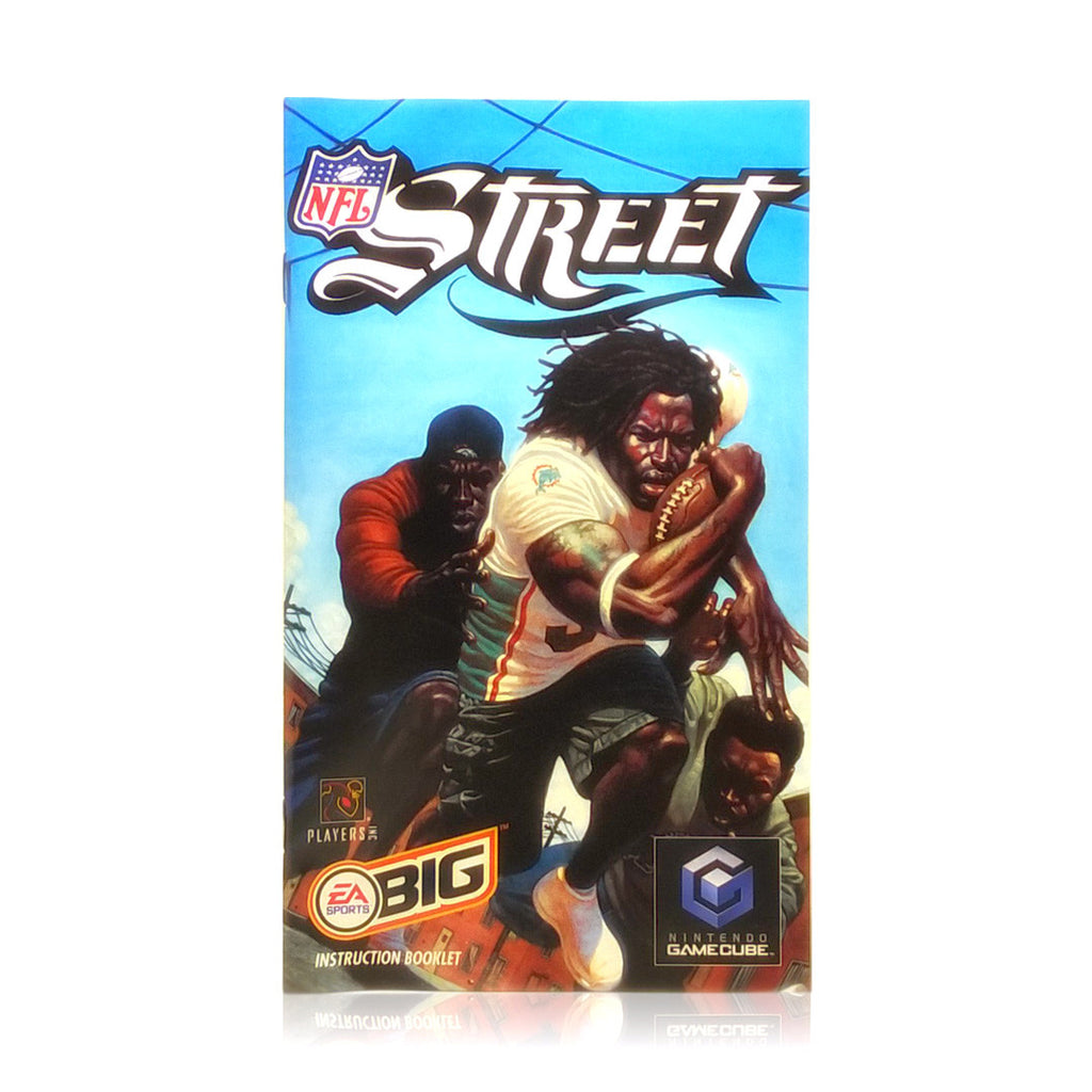 NFL Street Nintendo Gamecube Game - Manual