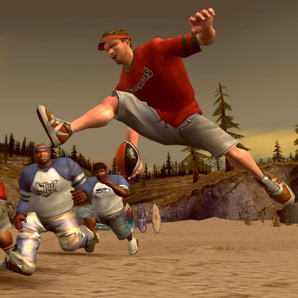NFL Street Nintendo Gamecube Game - Screenshot 1