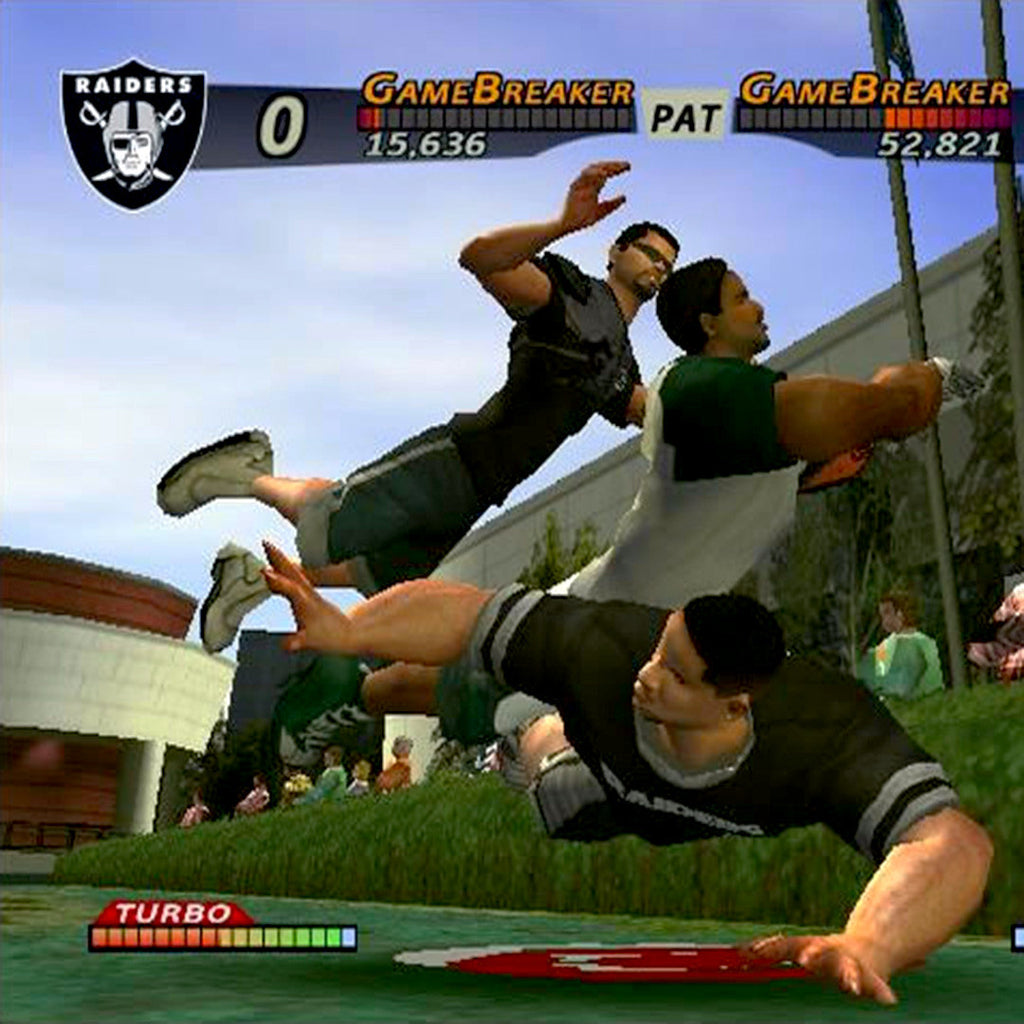 NFL Street Nintendo Gamecube Game - Screenshot 2
