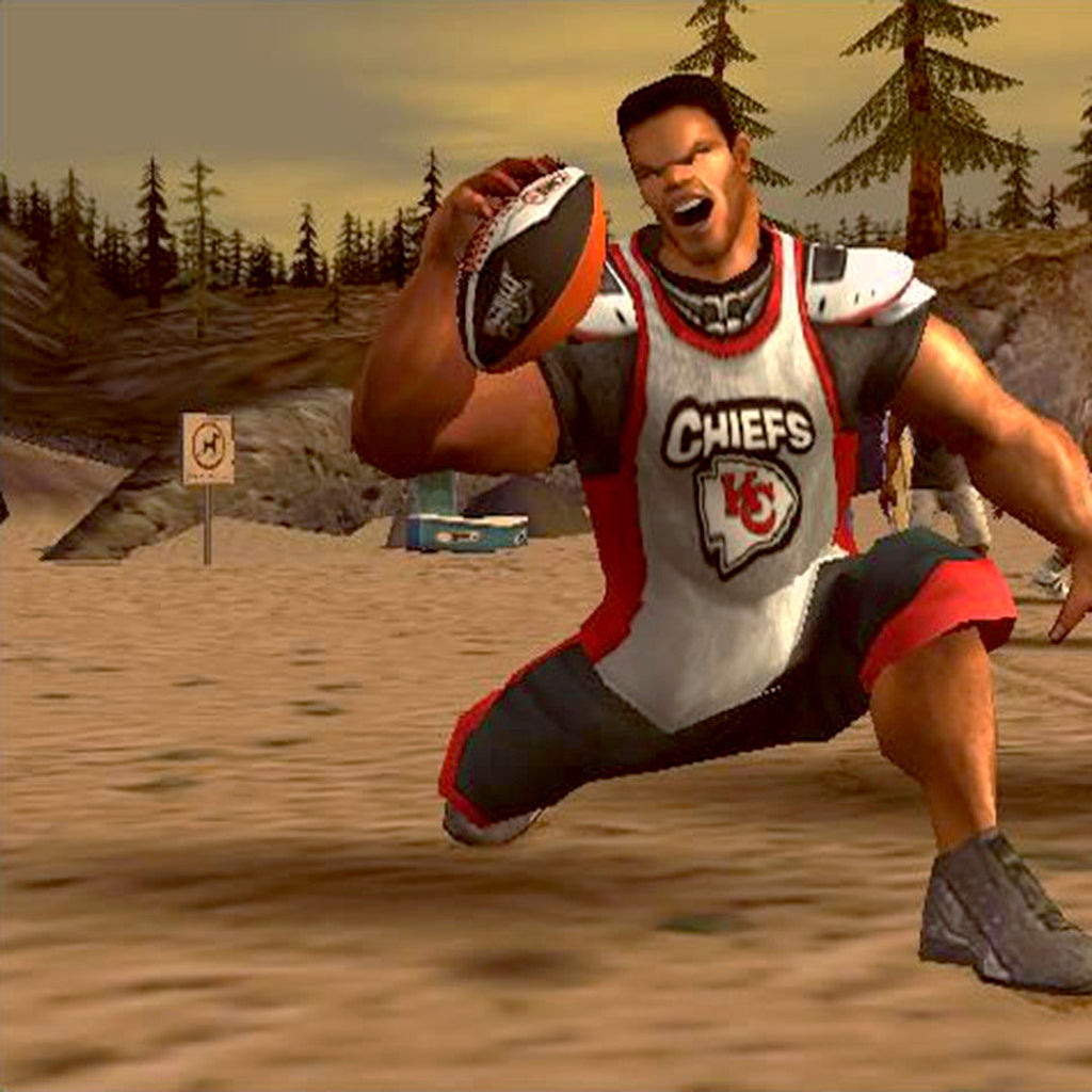 NFL Street Nintendo Gamecube Game - Screenshot 3