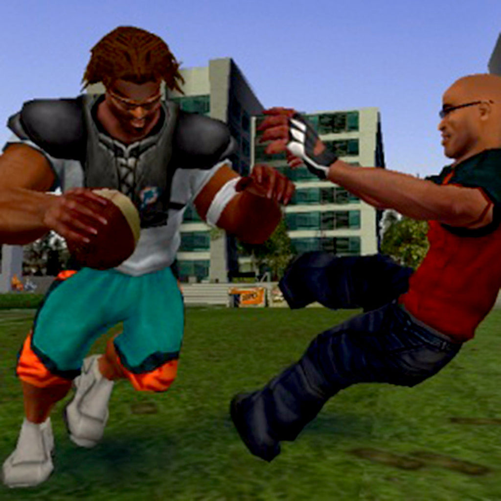 NFL Street Nintendo Gamecube Game - Screenshot 4