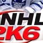 NHL 2K6 Sony PlayStation 2 Game - Titlescreen